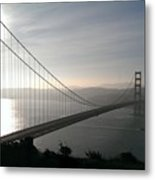 Golden Gate Bridge From Marin County Metal Print