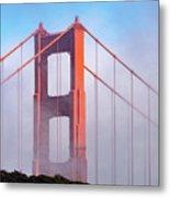 Golden Gate Bridge Metal Print
