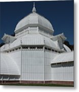 Golden Gate Conservatory Metal Print