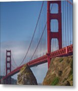 Golden Gate Metal Print