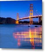 Golden Gate Dreams Metal Print