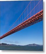 Golden Gate From The Bay Metal Print