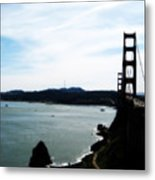 Golden Gate Iv Metal Print