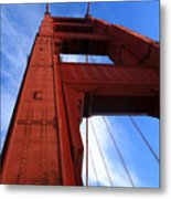 Golden Gate Tower Metal Print