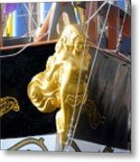 Golden Girl Of Gasparilla Metal Print