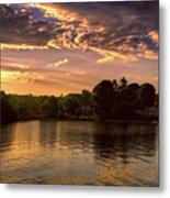 Golden Hour In New England Metal Print