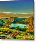 Golden Hour North Point Metal Print