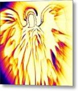 Golden Light Angel Metal Print by Alma Yamazaki