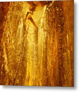 Golden Light Of Angel Metal Print