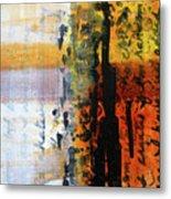 Golden Marks 4 Metal Print