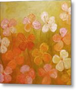 Golden Offspring Metal Print