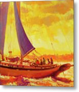 Golden Opportunity Metal Print