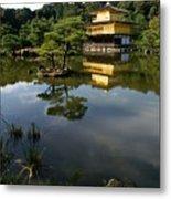 Golden Pavilion In Kyoto Metal Print