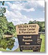 Golden Pond Visitor Center And Planetarium Metal Print