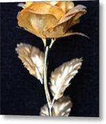 Golden Rose 1 Metal Print