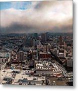 Golden San Francisco Metal Print