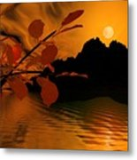 Golden Slumber Fills My Dreams. Metal Print