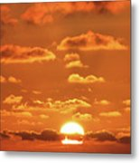 Golden Slumbers Metal Print