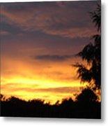 Golden Sunset 2 Metal Print