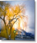 Golden Time Metal Print