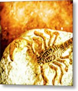 Golden Treasures Metal Print