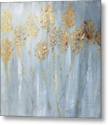 Golden Wheat Sheaf Metal Print