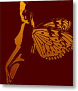 Golden  Wings Metal Print