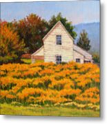 Goldenrod Time Metal Print