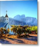 Goldfield Church Metal Print