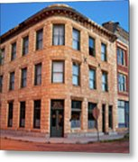 Goldfield Consolidated Mines Building Metal Print