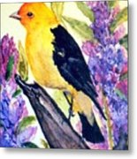 Goldfinch Metal Print