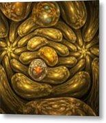 Goldfingers Metal Print