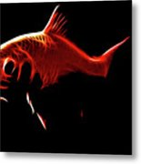 Goldfish 1 Metal Print by Tilly Williams