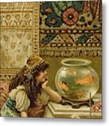 Goldfish Metal Print by William Stephen Coleman