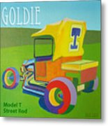 Goldie Model T Metal Print