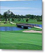Golf Course Gold Coast Queensland Metal Print
