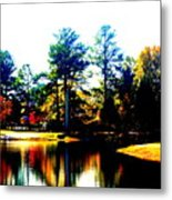 Golf Course Metal Print
