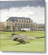 Golf Hotel, St Andrews Metal Print
