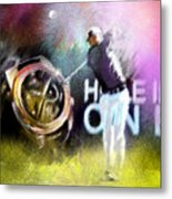 Golf In Crans Sur Sierre Switzerland 03 Metal Print