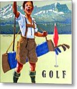 Golf In Deutchland Metal Print
