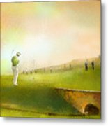 Golf In Scotland Saint Andrews 02 Metal Print