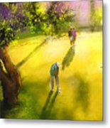 Golf In Spain Castello Masters  01 Metal Print