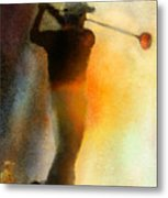 Golf In The Portugal Masters 01  Metal Print