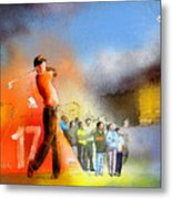 Golf Madrid Masters 01 Metal Print