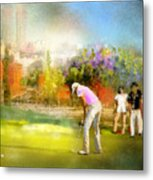 Golf Madrid Masters  02 Metal Print