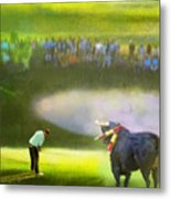 Golf Madrid Masters 03 Metal Print