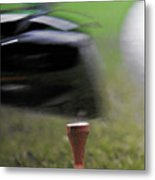 Golf Sport Or Game Metal Print