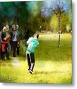 Golf Vivendi Trophy In France 02 Metal Print