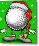 Golfmas Metal Print