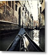 gondola - Venice Metal Print by Joana Kruse